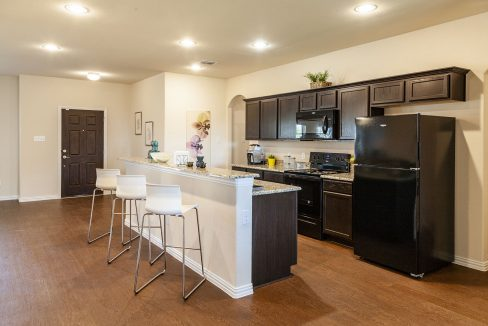 New kitchen in new construction home Dallas-Fort Worth