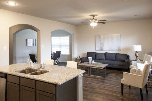Camden Homes Red Oak, TX - Living room