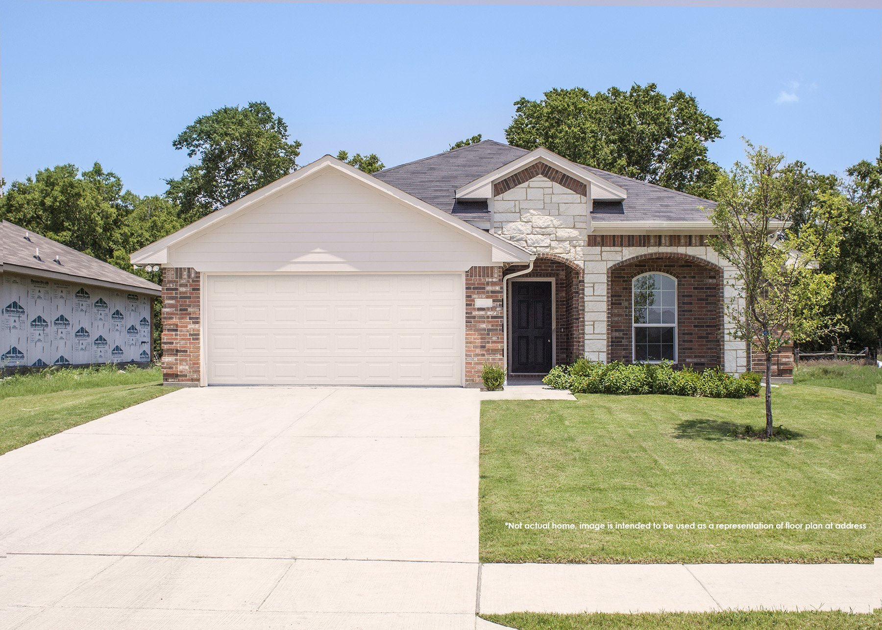 2607 Hutchinson St | New Home in Fort Worth, Texas
