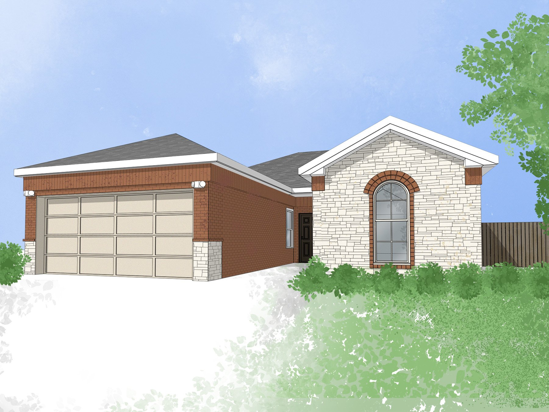 874 Road 5015 | New Home in Houston, Texas Area