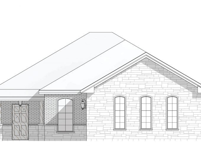 New build home blue print - Red Oak, Texas