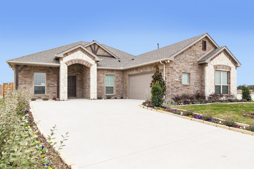 New build homes in Red Oak, Texas