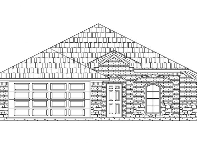 1543 Woodlake Dr   New Home in Waxahachie, Texas