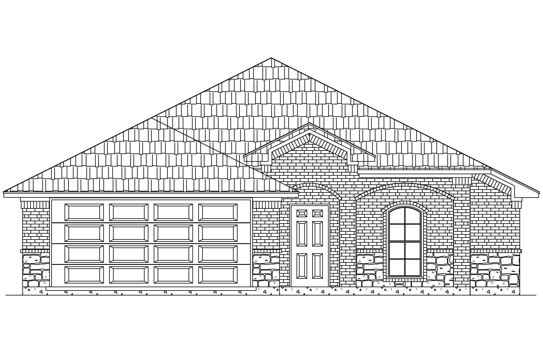 1543 Woodlake Dr | New Home in Waxahachie, Texas