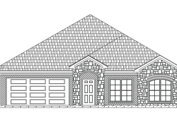 New build homes in Waxahachie, Texas