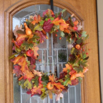 Beautiful fall wreath for your home