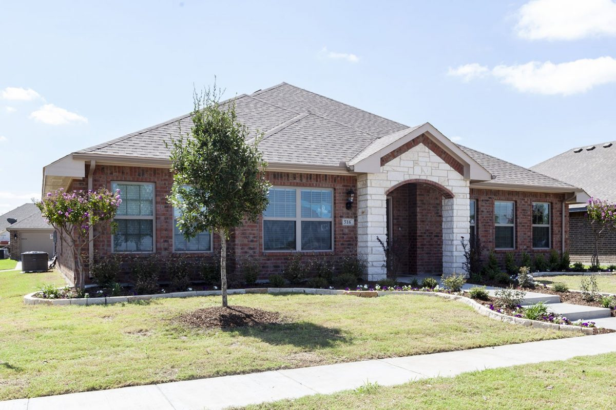 New Homes in Waxahachie, Texas