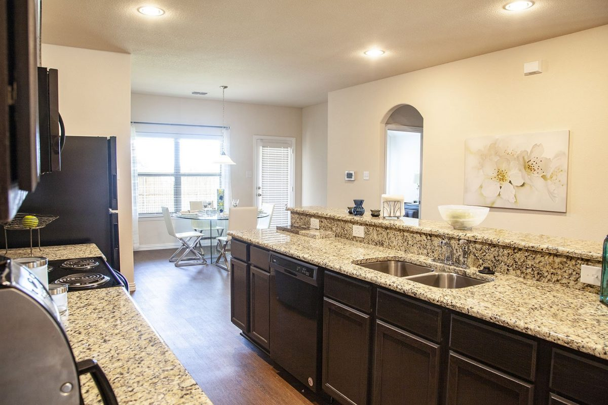 New home construction kitchen Dallas-Fort Worth