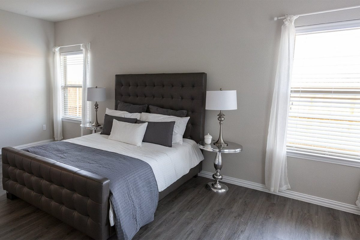 Camden Parks Farmersville, TX - Model master bedroom